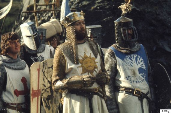 'Monty Python And The Holy Grail' Turns 40 - And John Cleese, Michael Palin Et Al Are Celebrating With...