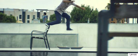 Lexus Finally Proves Its 'Back To The Future' Hoverboard Is Real With Incredible