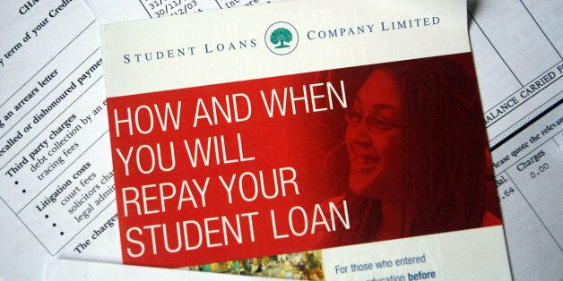 Bills and leaflets from Student Loans Company