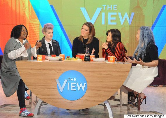 Kelly Osbourne Says She's NOT A Racist As She Defends Her Comments About Immigration On 'The View' In...