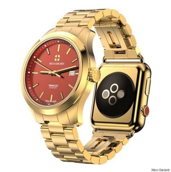 This $112,000 Designer Watch Has An Apple Watch Strapped To The Other