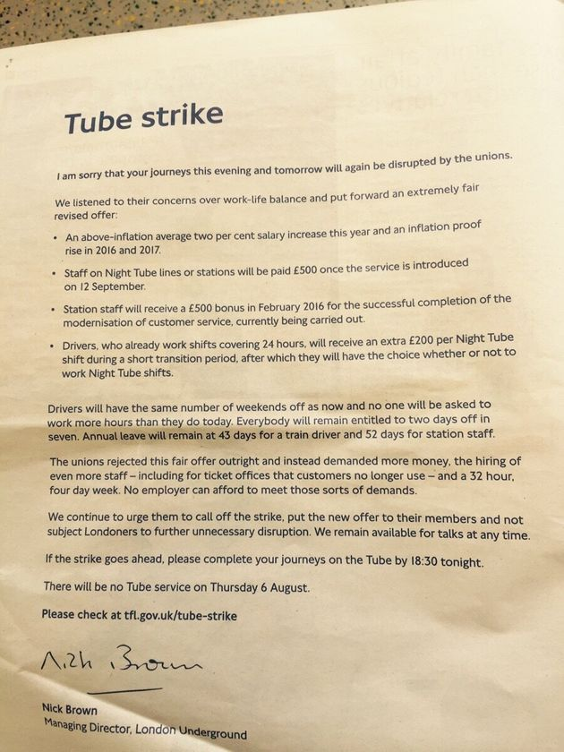 London Tube Strike Has More Commuter Support Than You Might