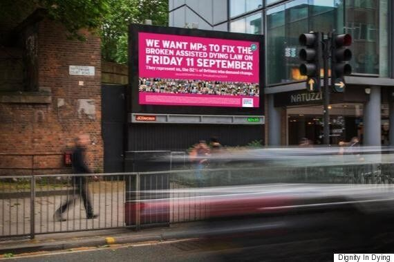 Dignity In Dying's Crowdfunder Campaign For Billboards In London Raises £3,000 In Just Three