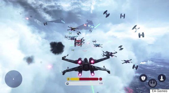 Electronic Art's Star Wars: Battlefront Gamescom Trailer Shows Of X-Wings And The Millennium