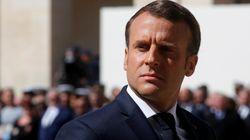 Avec les sauveteurs de la SNSM, Macron continue d'honorer ses