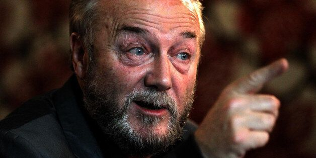 George Galloway launches his Coalition Against Cuts Campaign at the Tron Theatre in