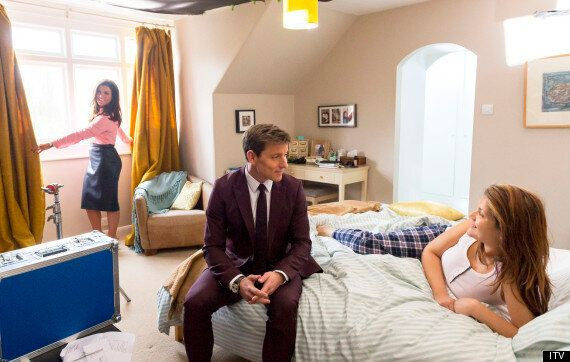 Susanna Reid And Ben Shephard 'Wake Up' 'Good Morning Britain' Viewer In ITV's Live Morning's TV Ad