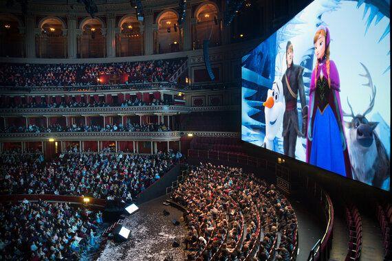 Thousands Of Princesses Frozen At Royal Albert