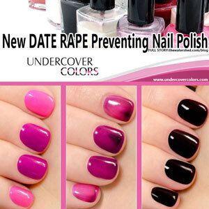 The Nail Polish That Detects Date-Rape