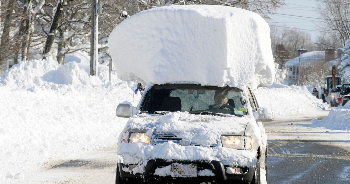 New York Extreme Snow Storm Pictures Reveal Aftermath, As