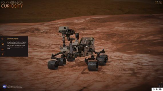 NASA Curiosity Simulator Lets You Drive Around A Virtual Mars