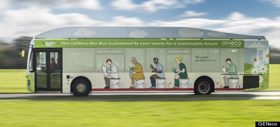 Poo Powered Bus Takes To Bristol