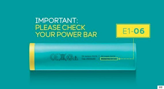 EE Power Bar Battery Packs Recalled After Student Severly Burned By Phone