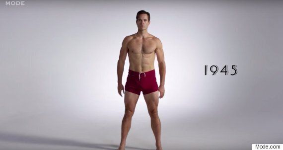 100 Years Of Men's Swimsuits Video: See A Century's Worth Of Bathing Suits In 3