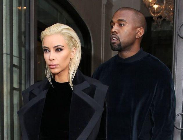 Mandatory Credit: Photo by REX (4490847bf) Kim Kardashian and Kanye West Kim Kardashian and Kanye West...