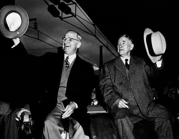 Iron Man in Winter: How Alben Barkley Helped Harry Truman Win the 1948