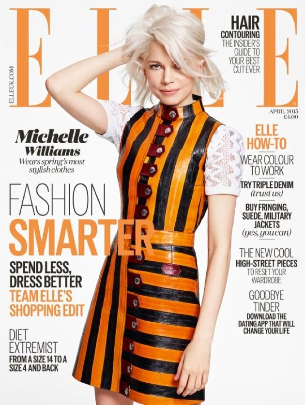 Michelle Williams Totally Rocks The Cover Of Elle