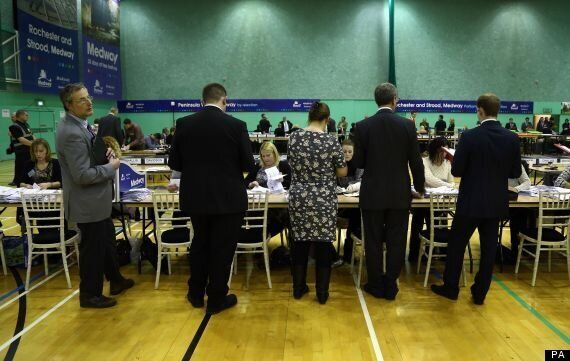 Ukip's Mark Reckless Expected To Win Rochester