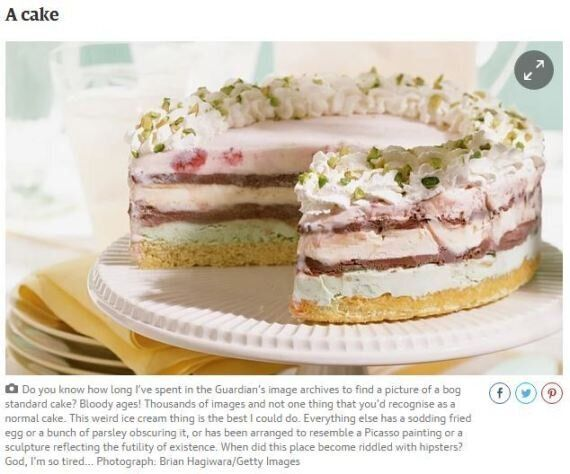 This Guardian Cake Picture Caption Is Something