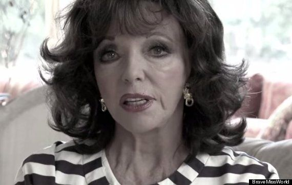 EXCLUSIVE: Why Joan Collins Chose To Confide In 'Brave Miss World' Filmmaker Linor Abargil About Teenage...