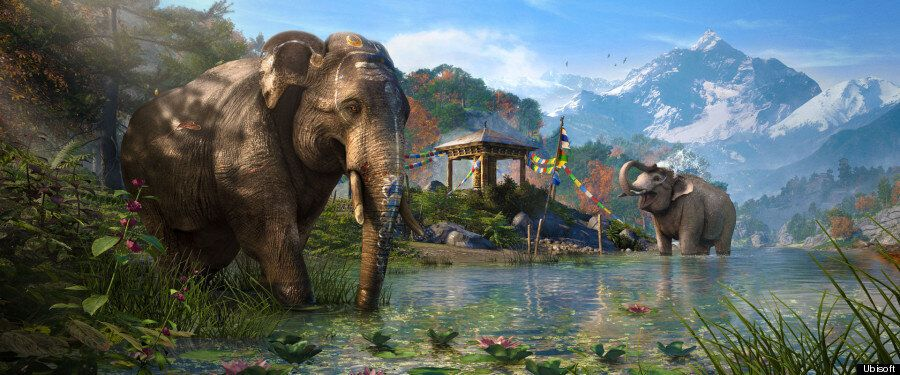 'Far Cry 4' Review Theory: This Is Literally 'All Animals Versus All Humans' The Video