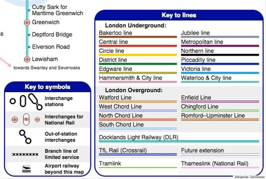 London Light Rail Map.London Underground Unofficial Tube Map Is Even Better Than The Real