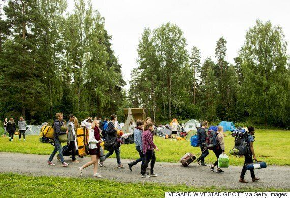 Utoya Island Summer Camp Returns To The Island Four Years After Anders Breivik