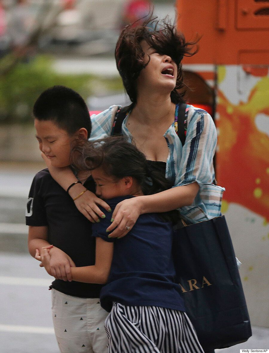 Typhoon Soudelor Hits China After Battering Taiwan With 100mph