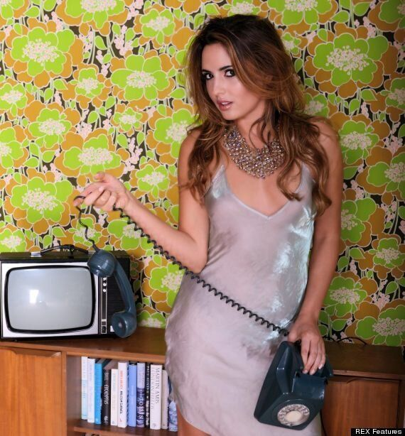 'I'm A Celebrity': Nadia Forde Goes Topless In Racy 2015 Calendar Pictures