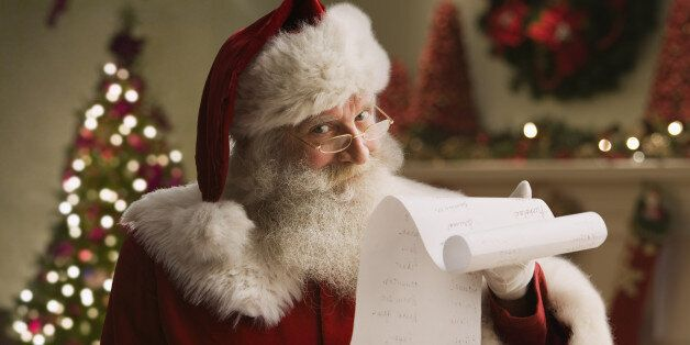 The Santa Claus List: Santa's 10 Very Best Tips For
