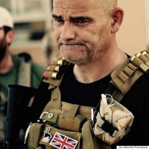 British Grandfather Jim Atherton Joins Christian Militia To Fight IS In
