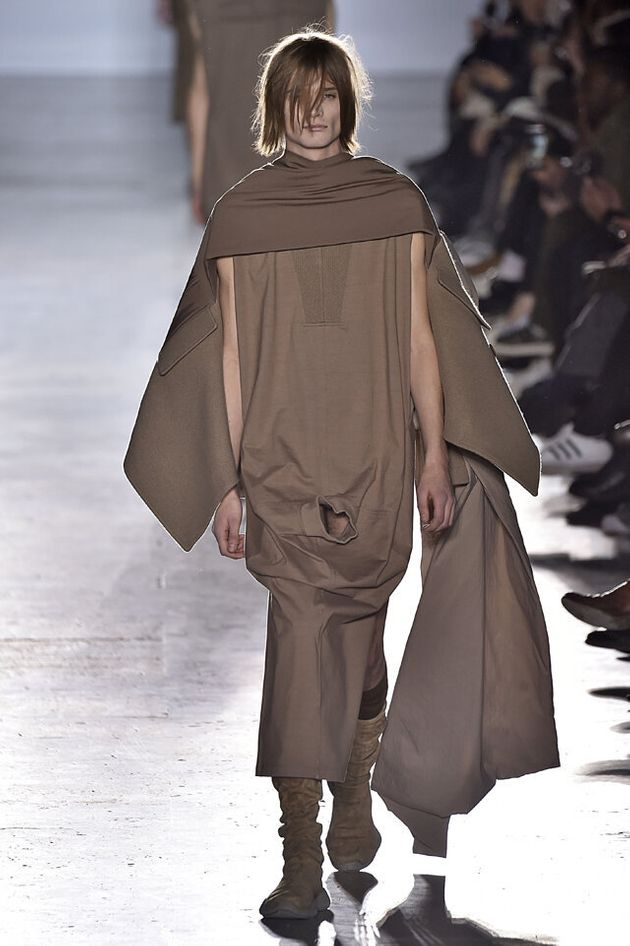 Rick Owens Just Did The Most Outrageous Thing At Paris Fashion