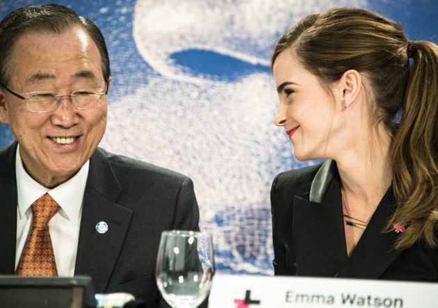 Emma Watson Takes Her Gender Equality Campaign To