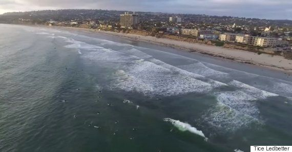 San Diego Fisherman Catches Drone As It Flies Over