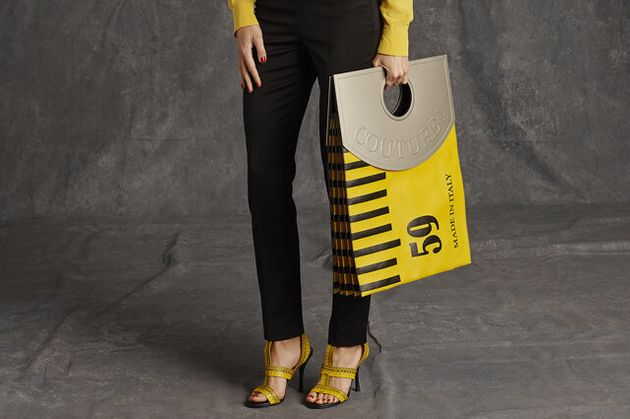 Moschino's Latest 'It' Bag? A Giant Tape Measure