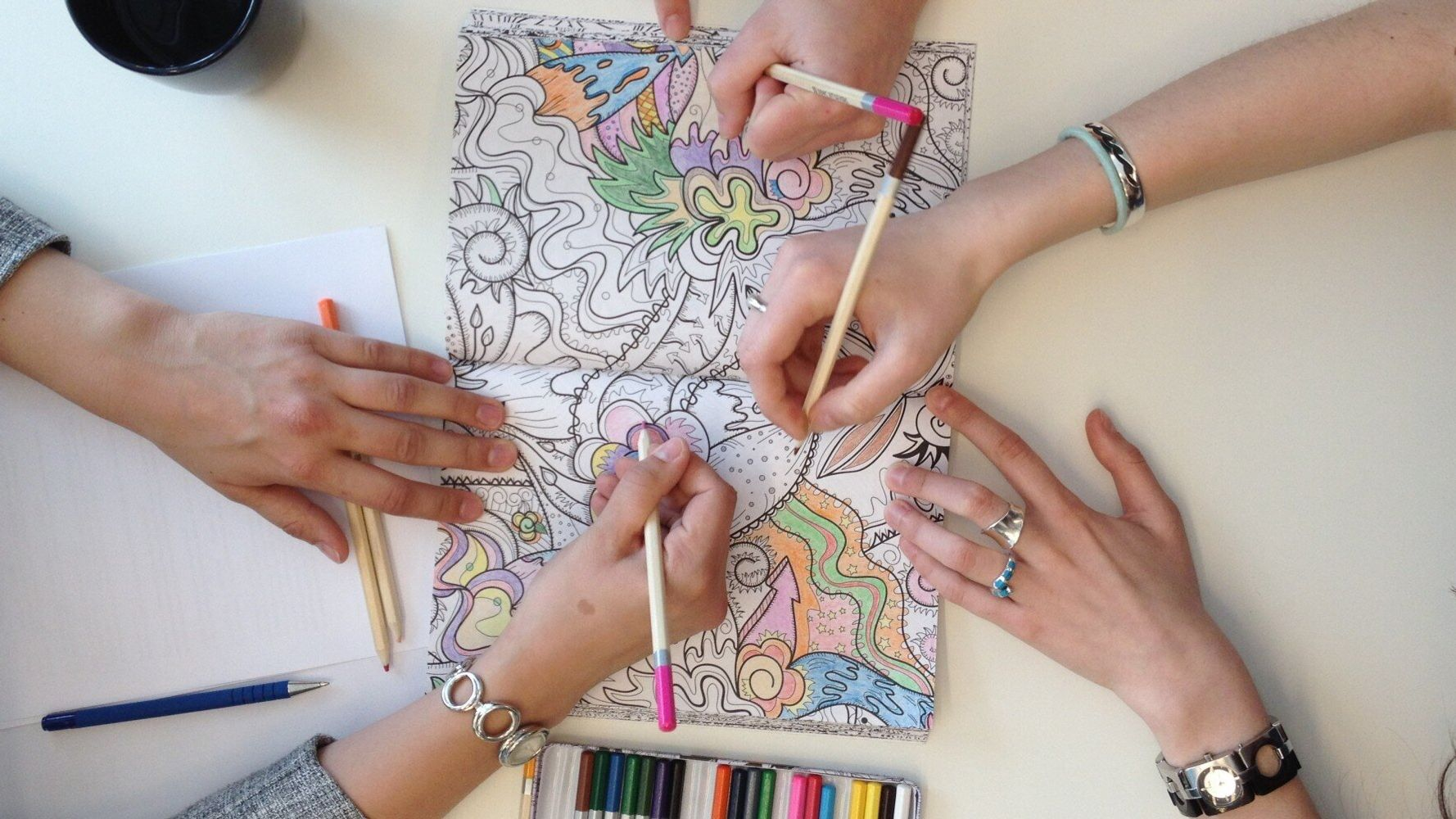 Colour Me Mindful: The Benefits of Colouring Books as a Calming Tool