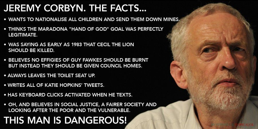 The Facts About Jeremy Corbyn The Media Doesn't Want You To