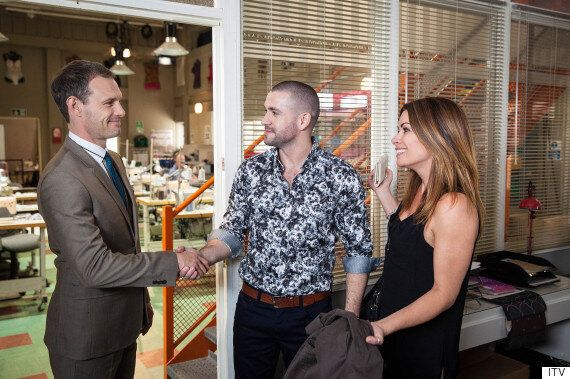 'Coronation Street' Spoiler: First Look At Shayne Ward As Aidan Connor