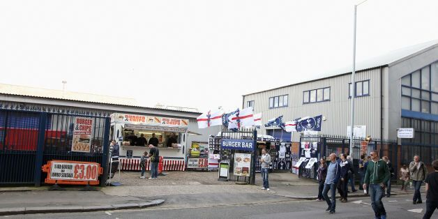 File photo dated 21/09/14 of Archway Sheet Metal Works, next to the North Stand of White Hart Lane in...