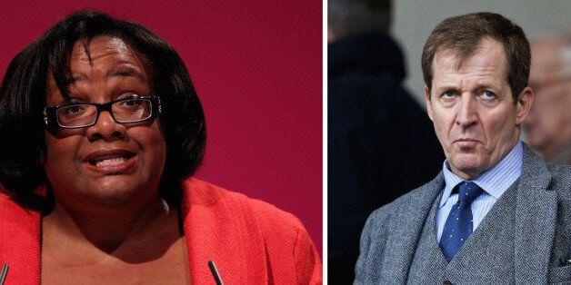 Alastair Campbell And Diane Abbott In Labour Leadership Twitter