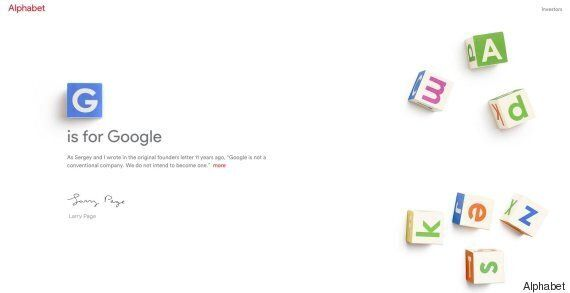 Google's New Owner Alphabet Has Website Blocked By