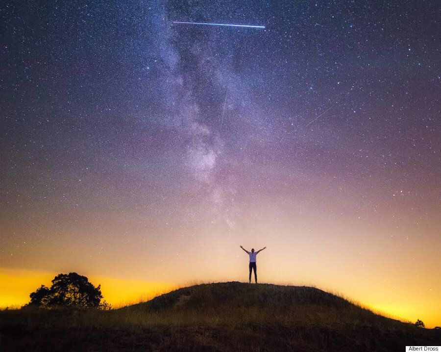 Perseids Meteor Shower Photographer Accidentally Captures International Space Station In Stunning