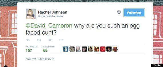 Boris Johnson's Sister Rachel 'Calls' David Cameron An 'Egg Faced C***' On