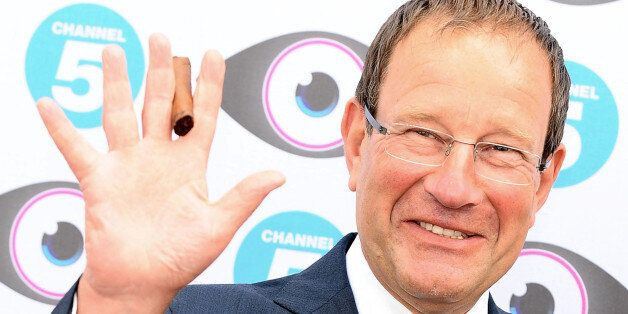 Richard Desmond arrives at the Big Brother Launch Party, at Elstree in Borehamwood,