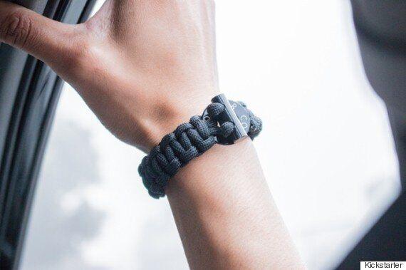 The Firestarter Survival Bracelet Is Pretty Much The Ultimate Survival
