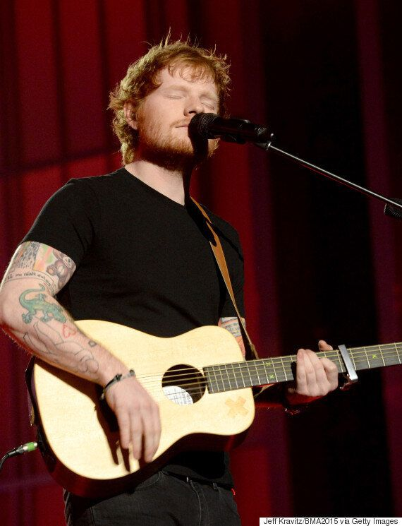 Ed Sheeran Reveals A HUGE New Tattoo On Instagram