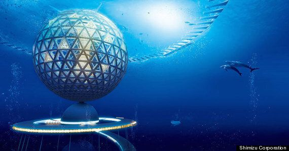 Japanese Firm Unveils Plans For Giant Underwater