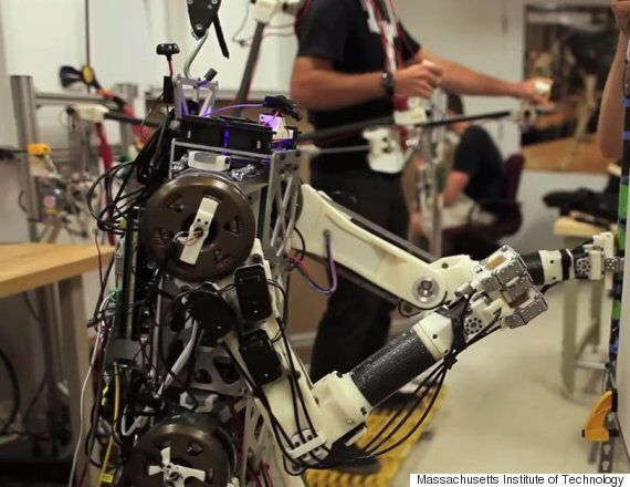 Massachusetts Institute Of Technology Disaster Robot Perfectly Mimics Human