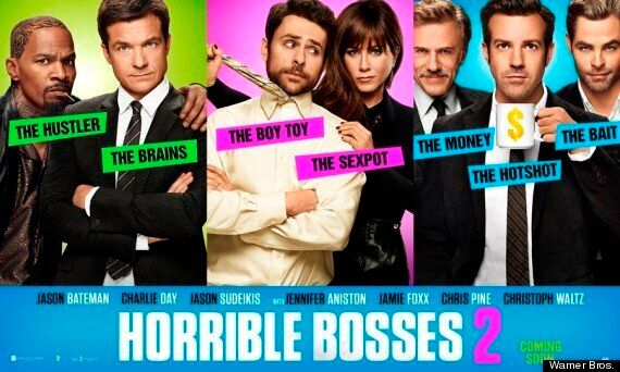 Win A Getaway To Ibiza, Barcelona Or London With 'Horrible Bosses 2', In Cinemas 28 November