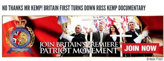 Britain First Reject Ross Kemp Immigration Film, Saying Move Would 'Drag Them Through